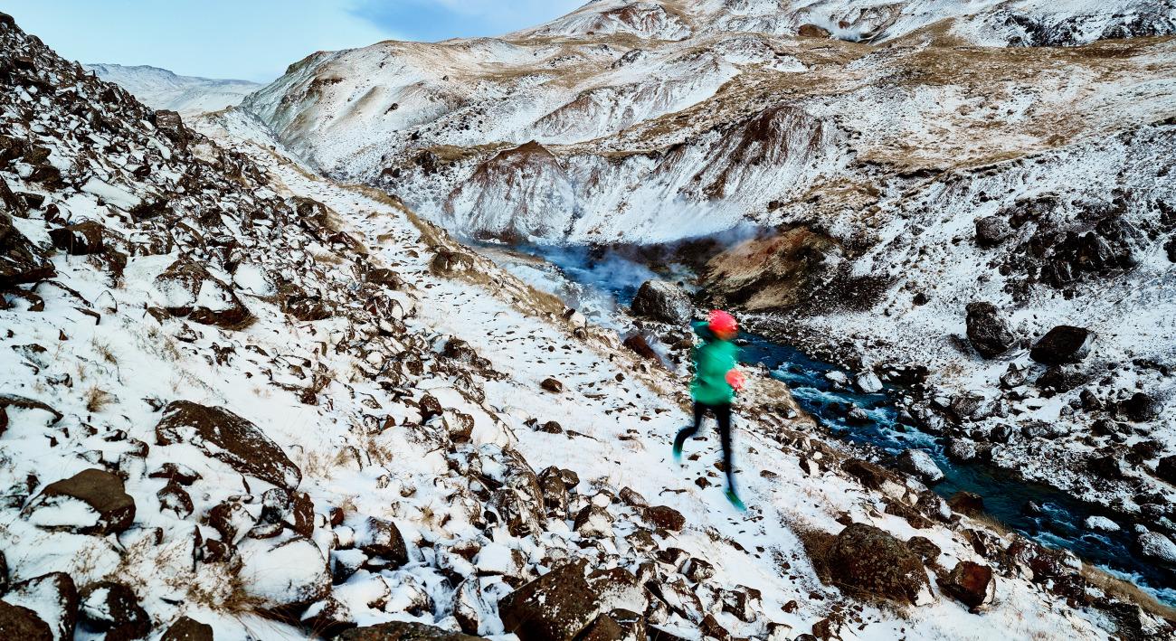 Fotografie von  Samaya Iceland   Running 2